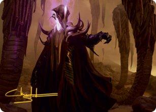 Extus, Oriq Overlord - Art 2 - Strixhaven - Art Series