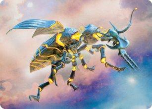Zabaz, the Glimmerwasp - Art 1 - Modern Horizons II - Art Series