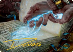 Mystic Redaction - Art 2 - Modern Horizons II - Art Series