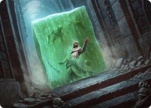 Gelatinous Cube - Art 1 - D&D Forgotten Realms - Art Series