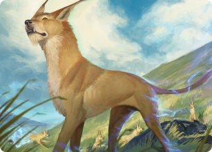 Blink Dog - Art 1 - D&D Forgotten Realms - Art Series