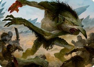 Loathsome Troll - Art 1 - D&D Forgotten Realms - Art Series