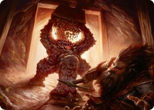 Xorn - Art 1 - D&D Forgotten Realms - Art Series