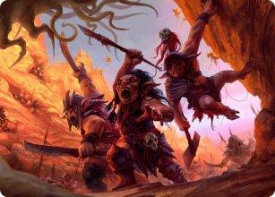Swarming Goblins - Art 1 - D&D Forgotten Realms - Art Series