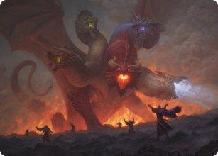 Tiamat - Art 1 - D&D Forgotten Realms - Art Series