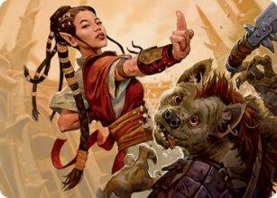 Half-Elf Monk - Art 1 - D&D Forgotten Realms - Art Series