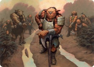 Hobgoblin Bandit Lord - Art 1 - D&D Forgotten Realms - Art Series