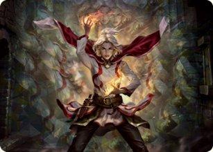 Delina, Wild Mage - Art 1 - D&D Forgotten Realms - Art Series