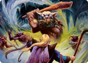 Den of the Bugbear - Art 1 - D&D Forgotten Realms - Art Series