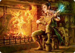 Wish - Art 1 - D&D Forgotten Realms - Art Series