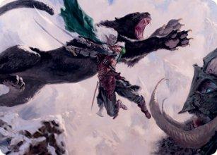 Drizzt Do'Urden - Art 1 - D&D Forgotten Realms - Art Series
