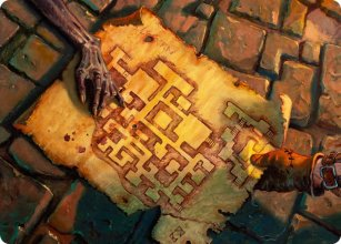 Dungeon Map - Art 1 - D&D Forgotten Realms - Art Series