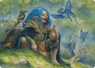 Feywild Trickster - Art 1 - D&D Forgotten Realms - Art Series