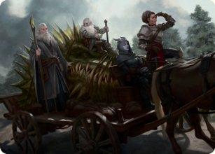Grim Bounty - Art 1 - D&D Forgotten Realms - Art Series