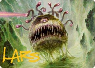 Baleful Beholder - Art 2 - D&D Forgotten Realms - Art Series
