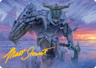 Rimeshield Frost Giant - Art 2 - D&D Forgotten Realms - Art Series