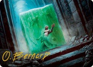Gelatinous Cube - Art 2 - D&D Forgotten Realms - Art Series