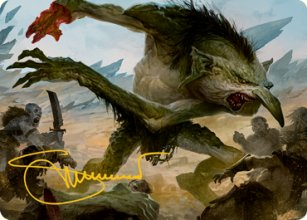 Loathsome Troll - Art 2 - D&D Forgotten Realms - Art Series