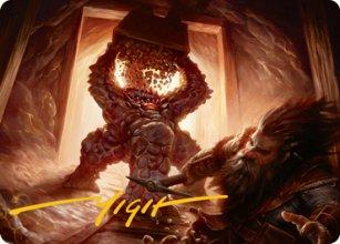 Xorn - Art 2 - D&D Forgotten Realms - Art Series