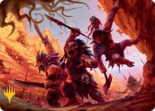 Swarming Goblins - Art 2 - D&D Forgotten Realms - Art Series