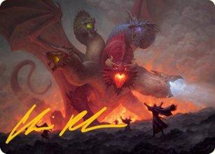 Tiamat - Art 2 - D&D Forgotten Realms - Art Series