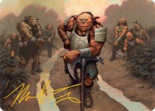 Hobgoblin Bandit Lord - Art 2 - D&D Forgotten Realms - Art Series