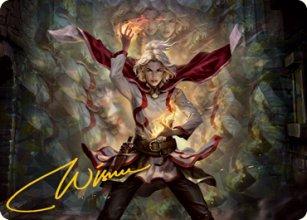 Delina, Wild Mage - Art 2 - D&D Forgotten Realms - Art Series