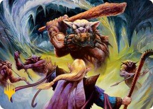 Den of the Bugbear - Art 2 - D&D Forgotten Realms - Art Series