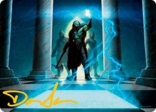 Sudden Insight - Art 2 - D&D Forgotten Realms - Art Series