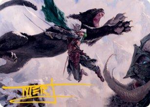 Drizzt Do'Urden - Art 2 - D&D Forgotten Realms - Art Series