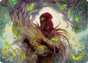 Circle of Dreams Druid - Art 2 - D&D Forgotten Realms - Art Series