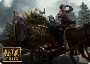 Grim Bounty - Art 2 - D&D Forgotten Realms - Art Series