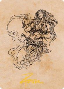 Djinni Windseer - Art 2 - D&D Forgotten Realms - Art Series