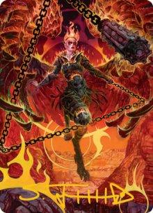 Zariel, Archduke of Avernus - Art 2 - D&D Forgotten Realms - Art Series