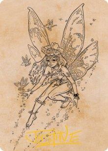 Pixie Guide - Art 2 - D&D Forgotten Realms - Art Series