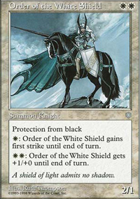 Order of the White Shield - Anthologies