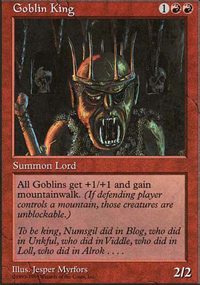 Goblin King - Anthologies