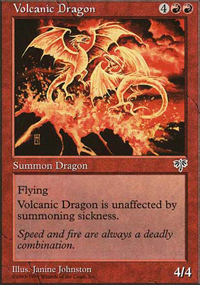 Volcanic Dragon - Anthologies