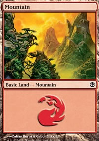 Mountain 1 - Ajani vs. Nicol Bolas