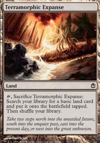 Terramorphic Expanse - Ajani vs. Nicol Bolas