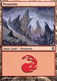 Mountain 2 - Ajani vs. Nicol Bolas