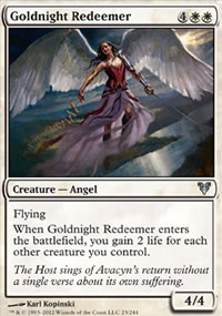 Goldnight Redeemer - Avacyn Restored