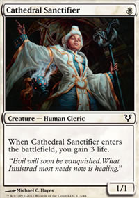 Cathedral Sanctifier - Avacyn Restored