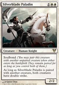 Silverblade Paladin - Avacyn Restored