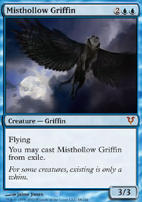 Misthollow Griffin - Avacyn Restored