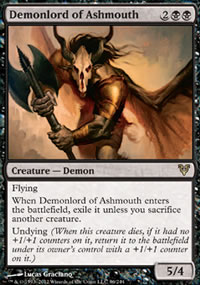Demonlord of Ashmouth - Avacyn Restored