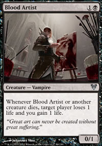 Blood Artist - Avacyn Restored