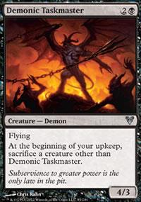 Demonic Taskmaster - Avacyn Restored