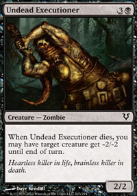 Undead Executioner - Avacyn Restored