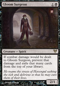 Gloom Surgeon - Avacyn Restored